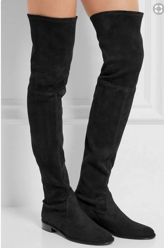 a7ca2de287a flat long boots