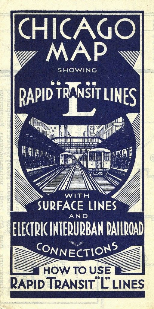 """Keeping Everyone in the Loop: 50 Years of Chicago """"L"""" Graphics ..."""