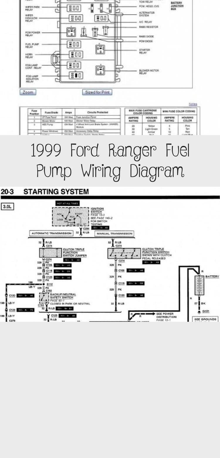 1999 Ford Ranger Fuel Pump Wiring Diagram Cars Ford Ranger Ford Ford Ranger Sport