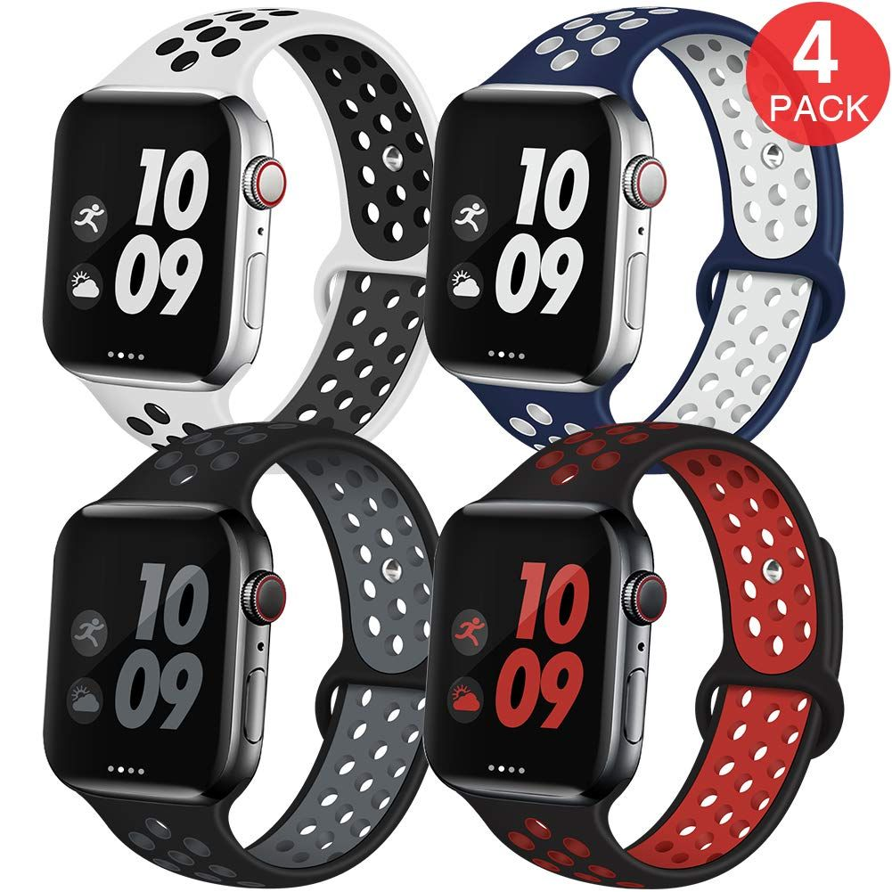EXCHAR Sport Band Compatible with Apple Watch Band 38mm