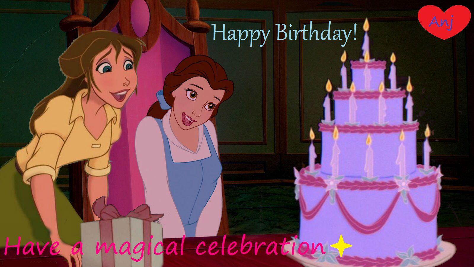 Belle Happy Birthday