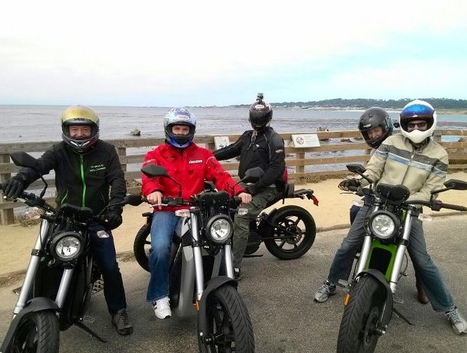 Brammo Enertia And Plus Group Electric Motorcycle Ride On 17 Mile
