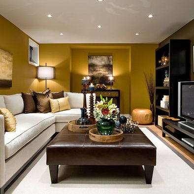 Like The Color Of The Couch And The Modern Fireplace