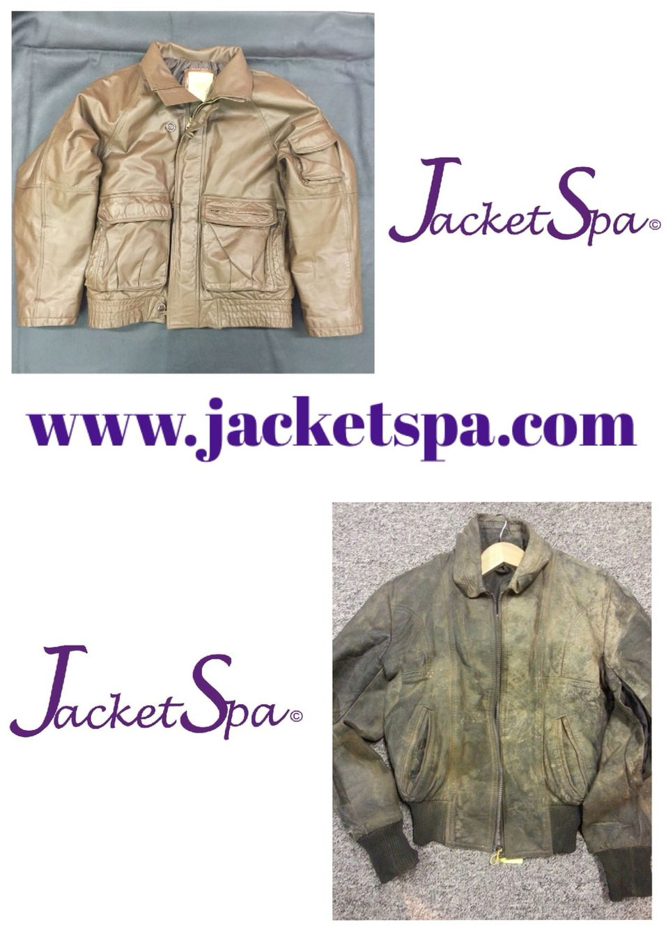 Leather Jacket Repairs ¦ Jacket Cleaning ¦ Leather Repair