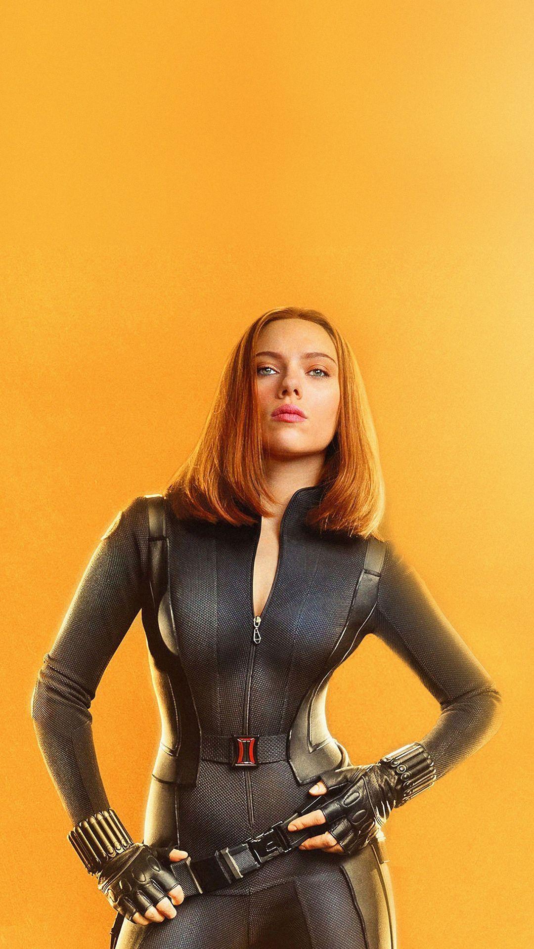 Black Widow Avengers Infinity War Scarlett Johansson 1080x1920