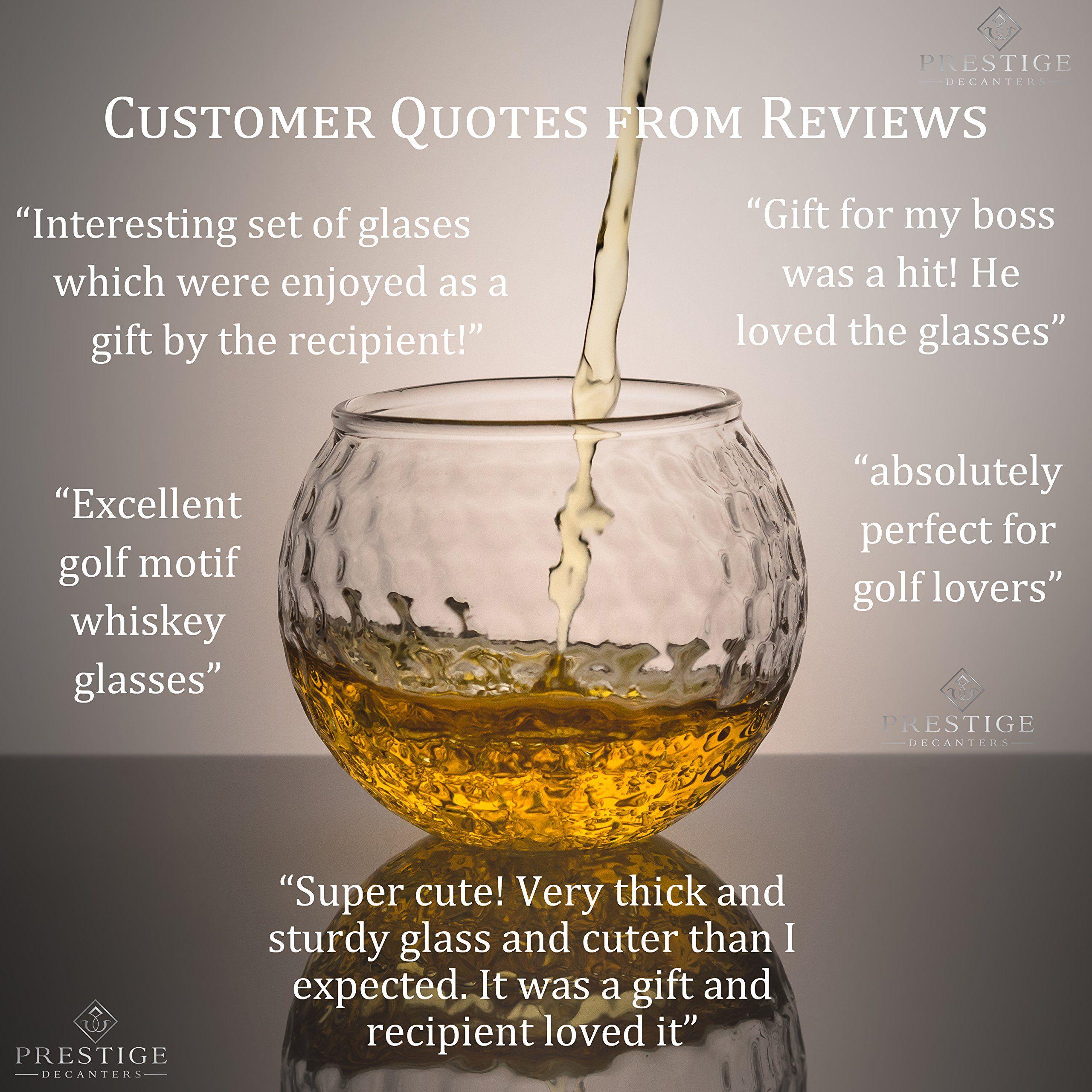 Golf Wedding >> Golf Whiskey Glass – 10 oz Unique