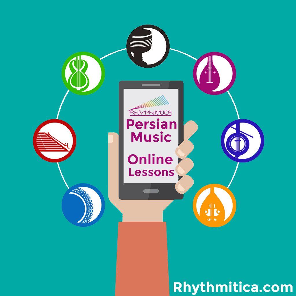 Online Persian music lessons platform by Rhythmitica.com