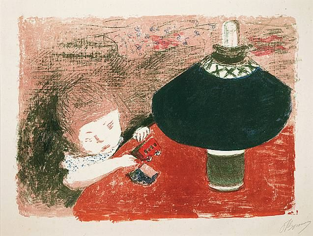 Pierre Bonnard, L'Enfant à la lampe