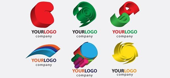 Free 3D Logo Designs with Colorful Shapes