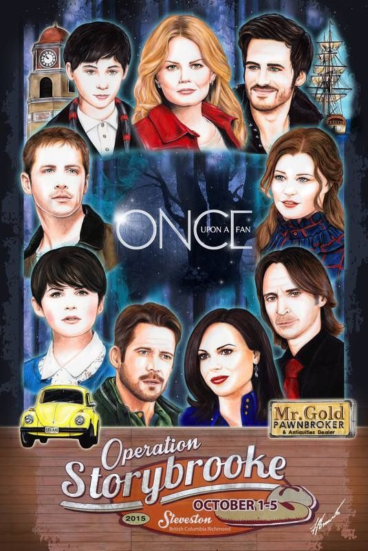 The Awesome Characters Of The Awesome Cast Of #Once In