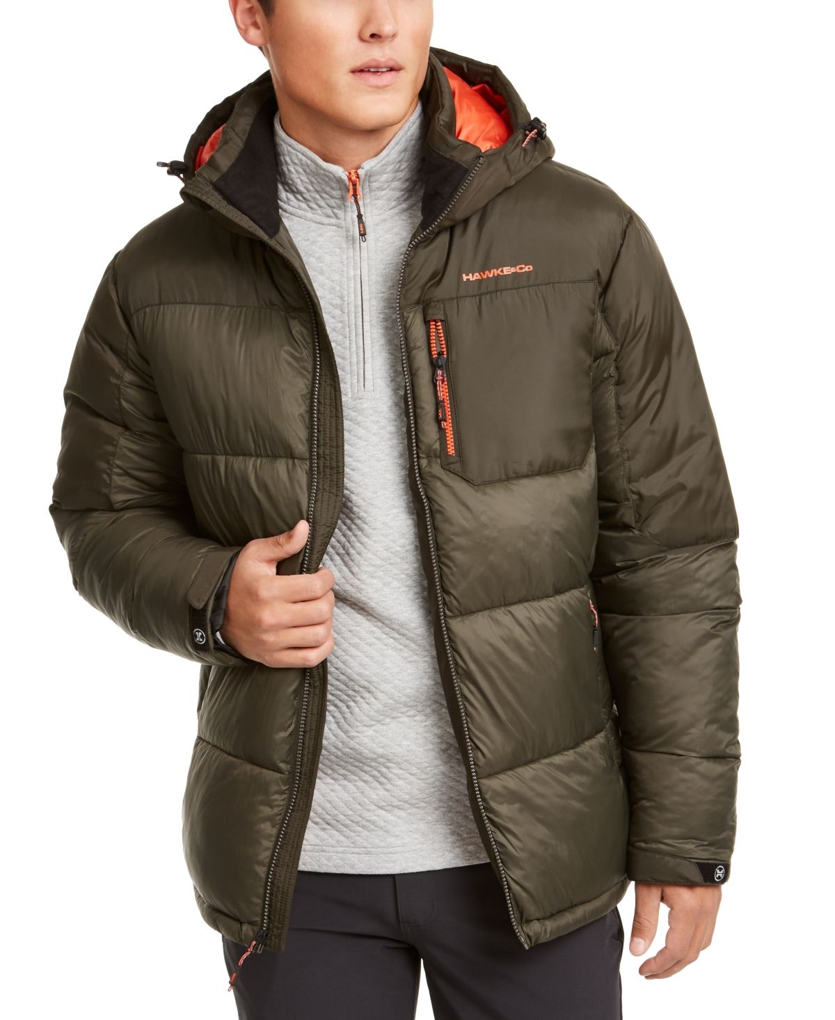 Hawke Co Outfitter Men S Puffer Jacket Created For Macy S Reviews Coats Jackets Men Macy S In 2021 Mens Puffer Jacket Mens Outfitters Mens Jackets [ 1466 x 1200 Pixel ]