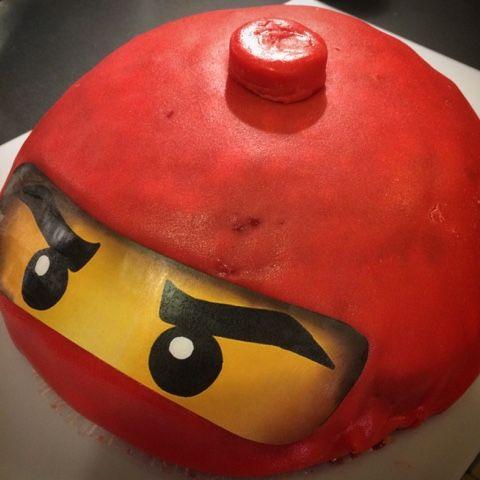 Leuto Jemma: Lego-synttärit Lego cake, Lego Ninja cake