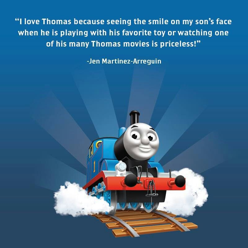 Nice thing to say about Thomas the Tank Engine