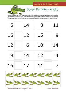Contoh Bilangan Kurang Dari Dan Lebih Dari : contoh, bilangan, kurang, lebih, Matematika, Lebih, Kurang, Kunci, Dunia