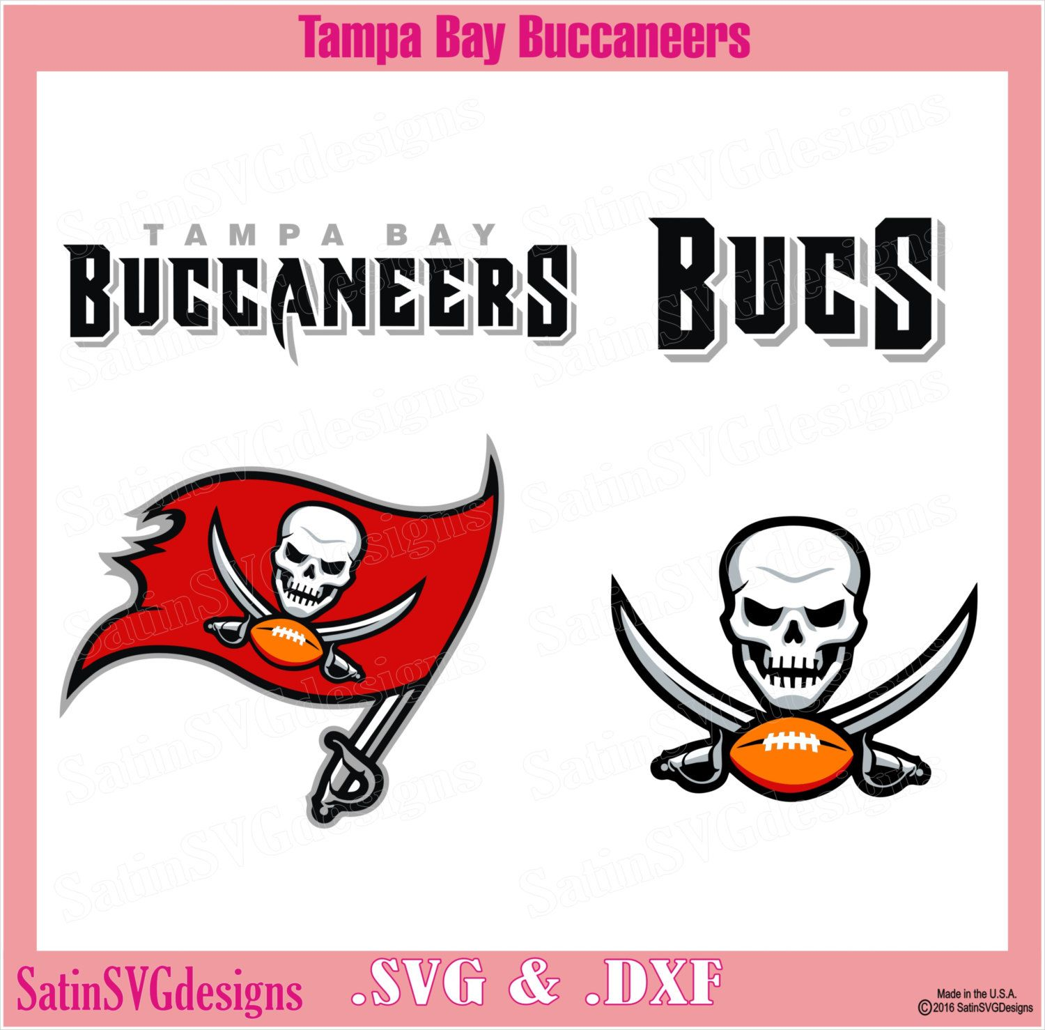 Tampa Bay Buccaneers Design Set Files Use Silhouette Studio Software Svg Files Dxf Explore Png Files Svg Fonts Cam Tampa Bay Buccaneers Svg Nfl Football Design