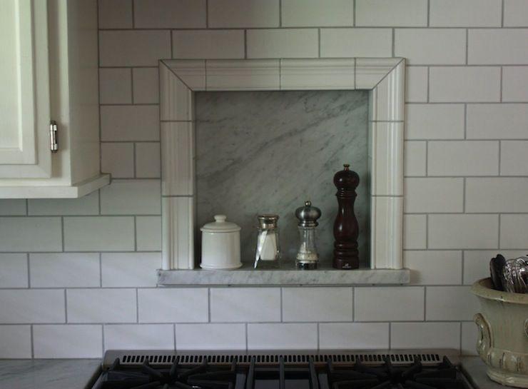 12 Subway Tile Backsplash Design Ideas Installation Tips Backsplash Tile Design Kitchen Niche Kitchen Tiles Backsplash