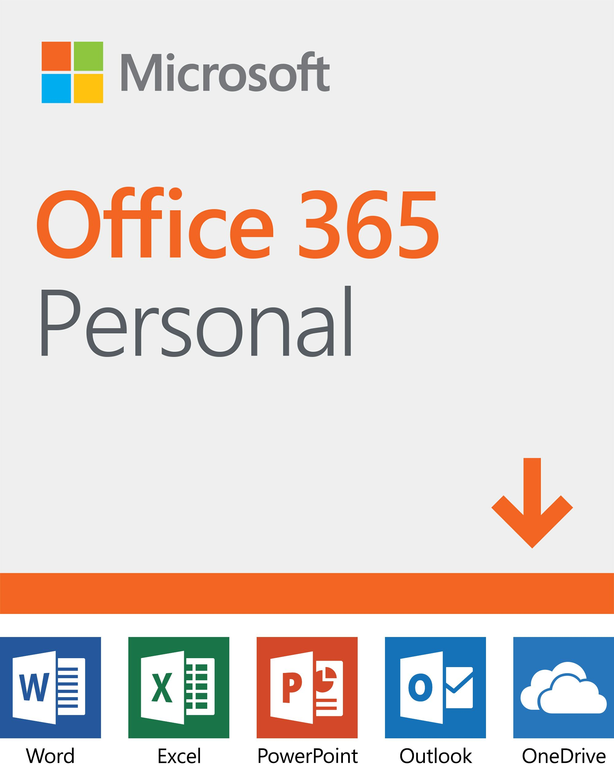 Microsoft 365 Personal 12 Month Subscription 1 Person Premium Office Apps 1tb Onedrive Cloud Storage Pc Mac Download Walmart Com Office 365 Personal Office 365 Microsoft Office