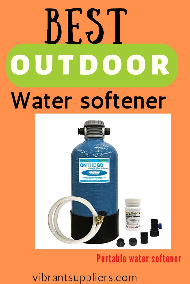 Outdoor Water Softener In 2020 Water Softener Water Softener System Softener