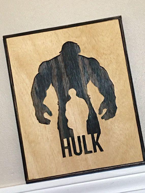 Scroll Saw Art Hulk By Cutwiththegrain On Etsy Scroll