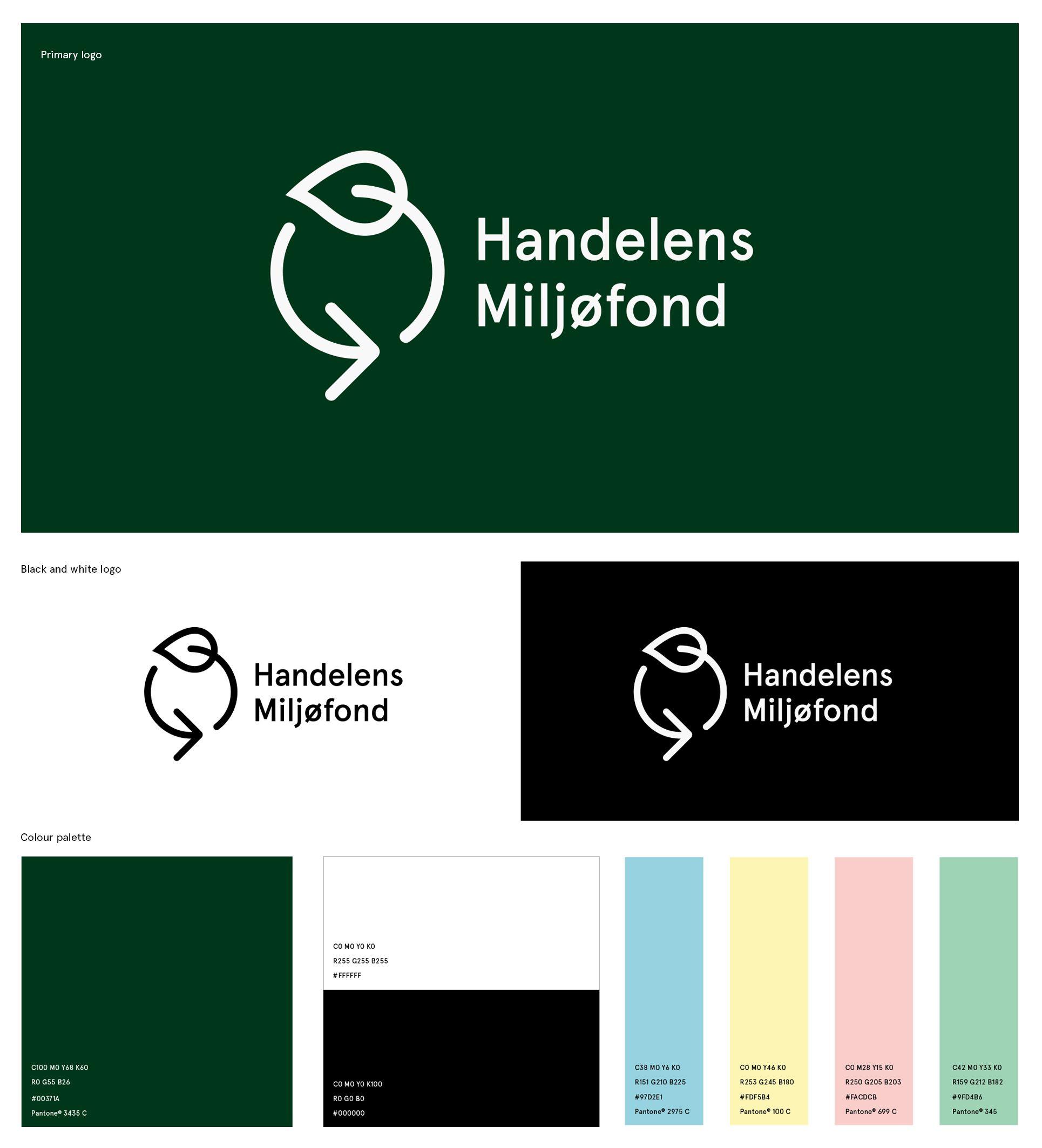 Handelens Miljøfond Visual Identity on Behance Visual