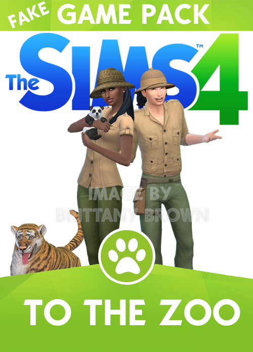 Sims 4 To The Zoo Game Pack You Can Find The Tiger In Sims 4 Gallery By Grievous501st And The Panda Bear Sims 4 Expansions Sims 4 Game Packs The Sims 4 Packs
