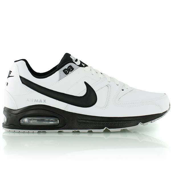 super popular 913d2 a7d35 nike AIR MAX COMMAND LEATHER WHITE BLACK-BLACK-WOLF GREY