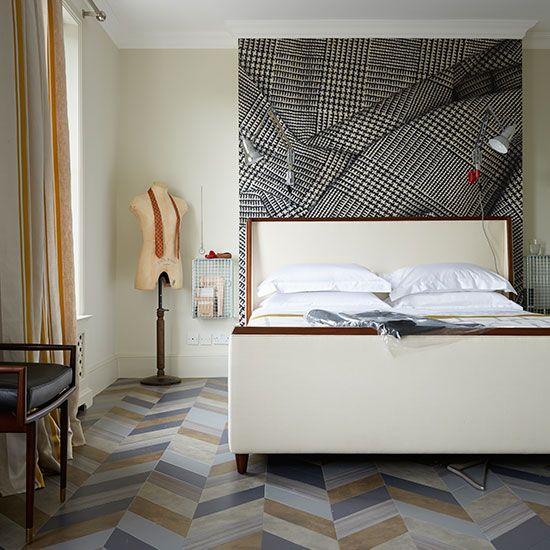 Bedroom Ideas Designer Bedroom With Linen Print Background Also Cool Designer Bedroom Design Ideas