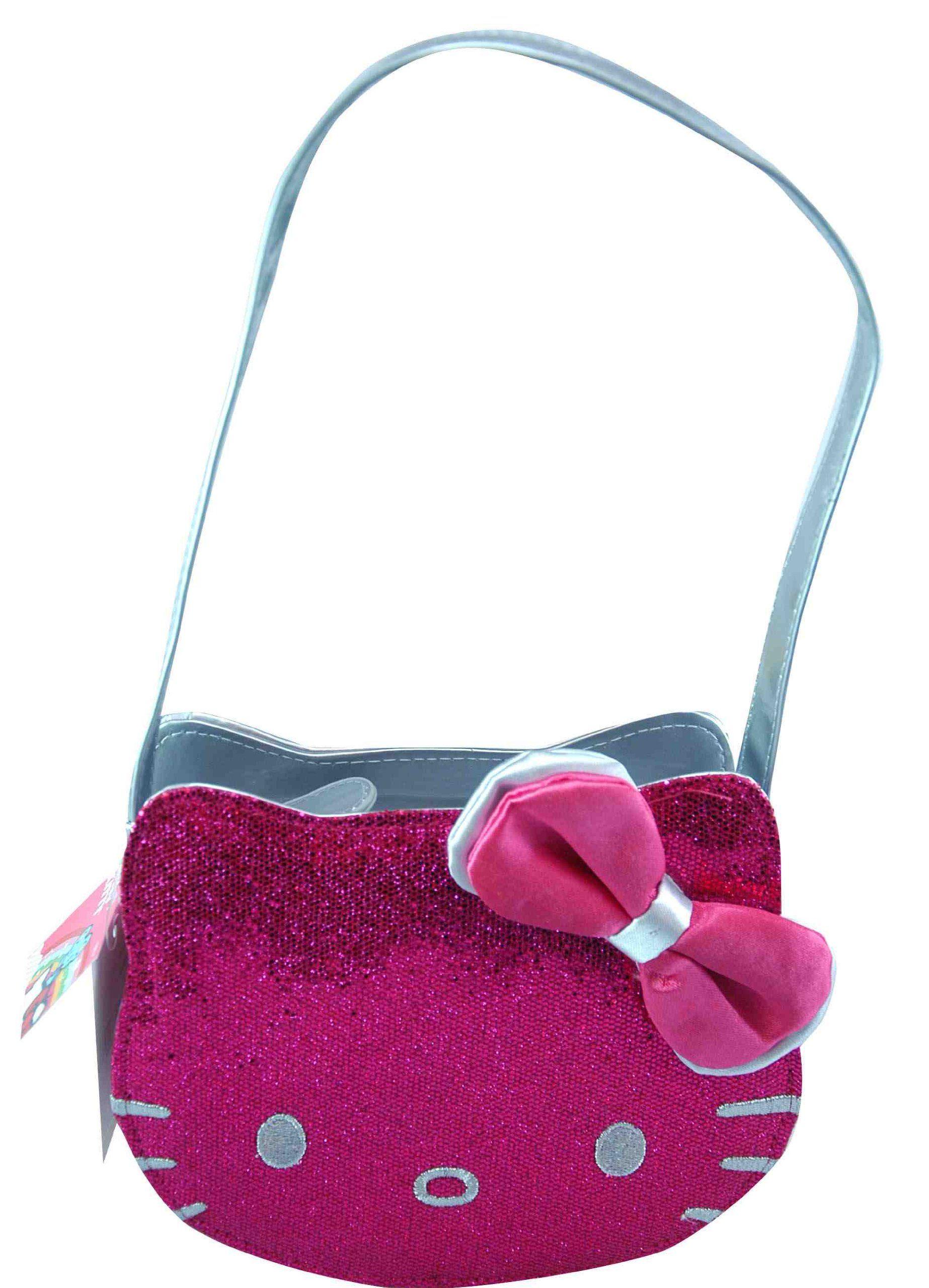 Handbag - Hello Kitty - Pink Die Cut PVC Head  462f62d38d2ae