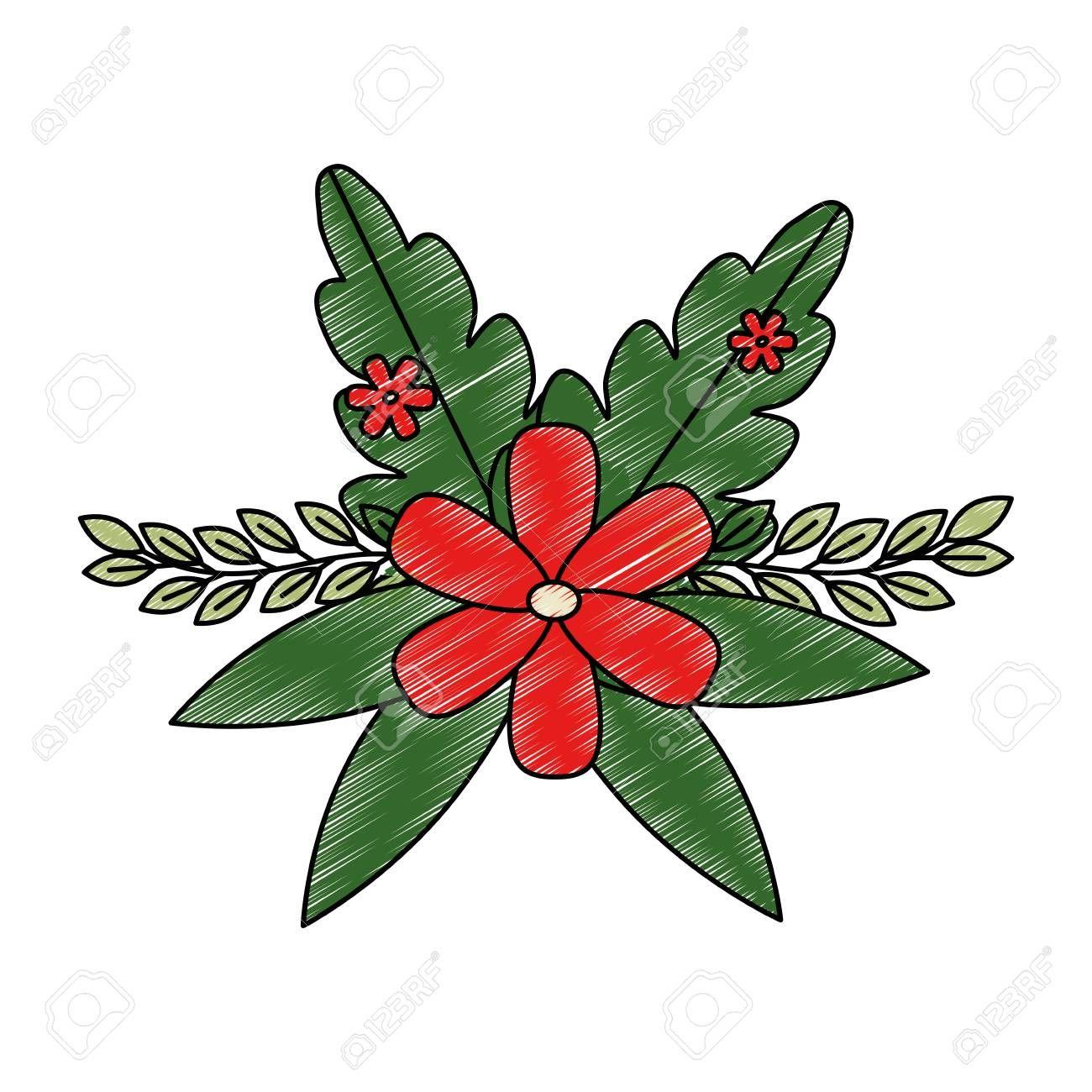 Flower decoration icon vector illustration design , AD,