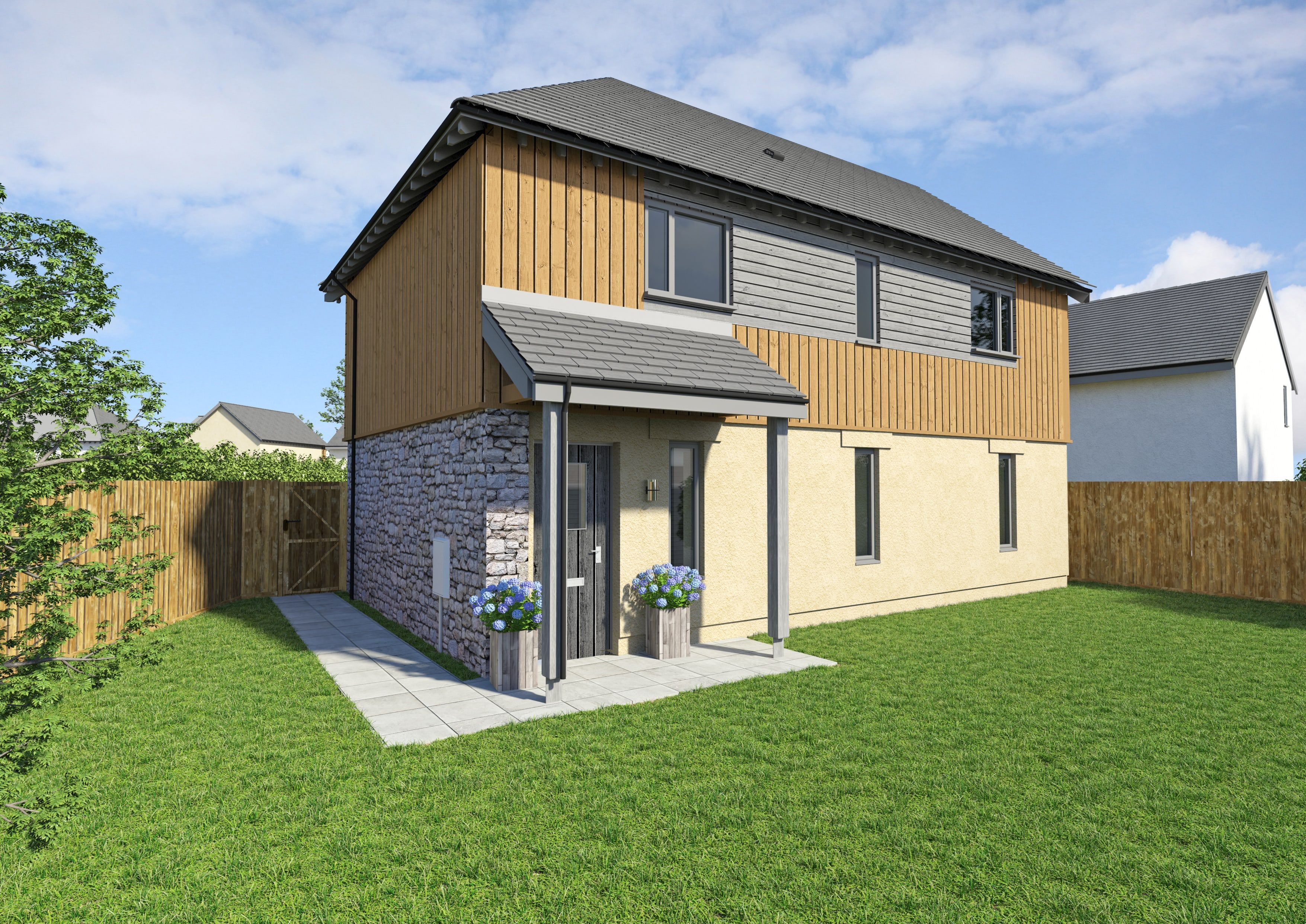 Hawthorn 2 bedroom coach house with open plan kitchen