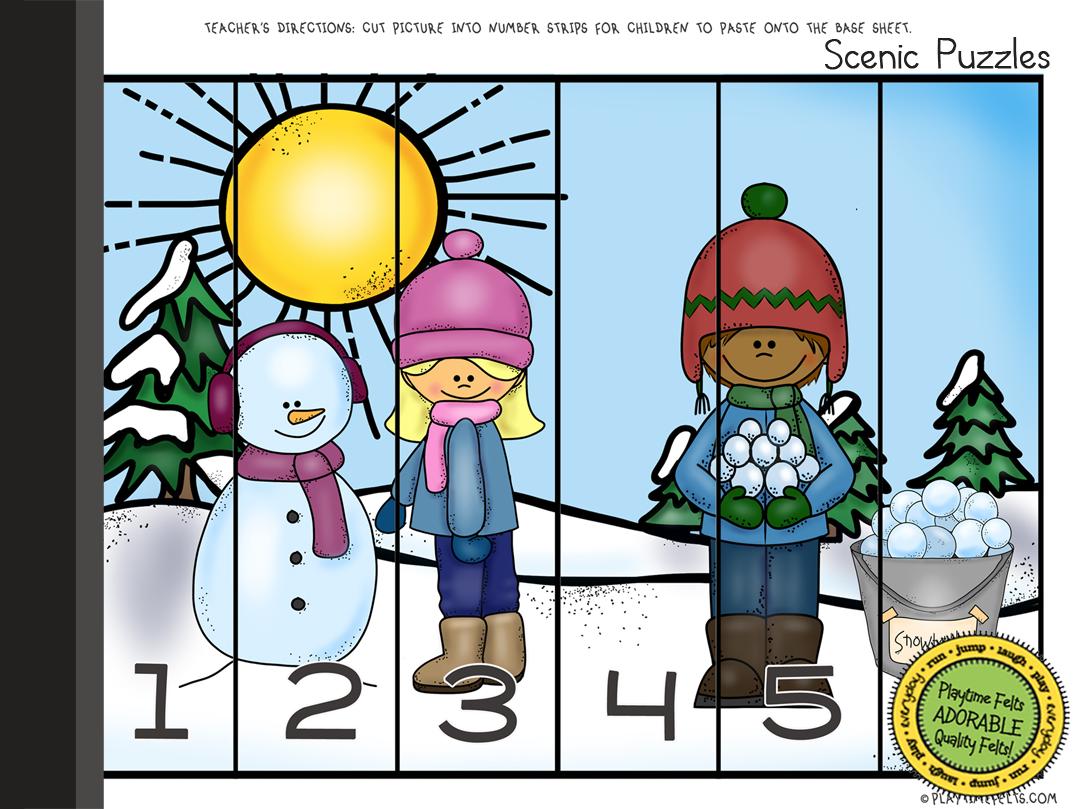 Winter Time Theme Digi Download