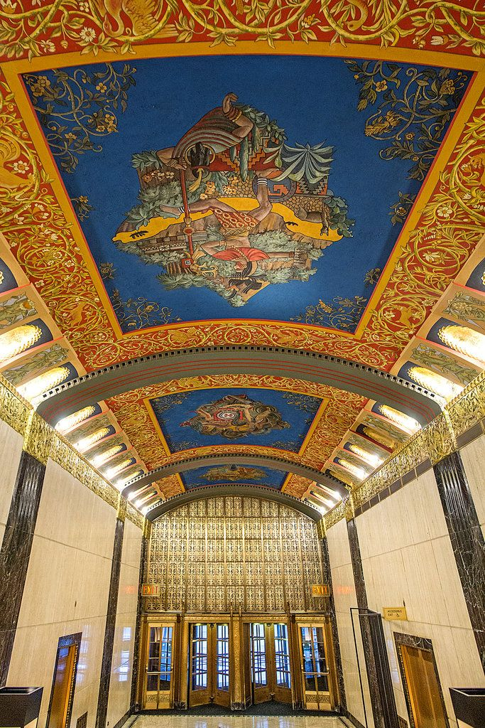 Restoring Historic Lobbies in Luxury Buildings - The New York Times