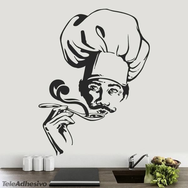 Vinilos decorativos cocina 1 bon appetit pinterest for Stickers decorativos