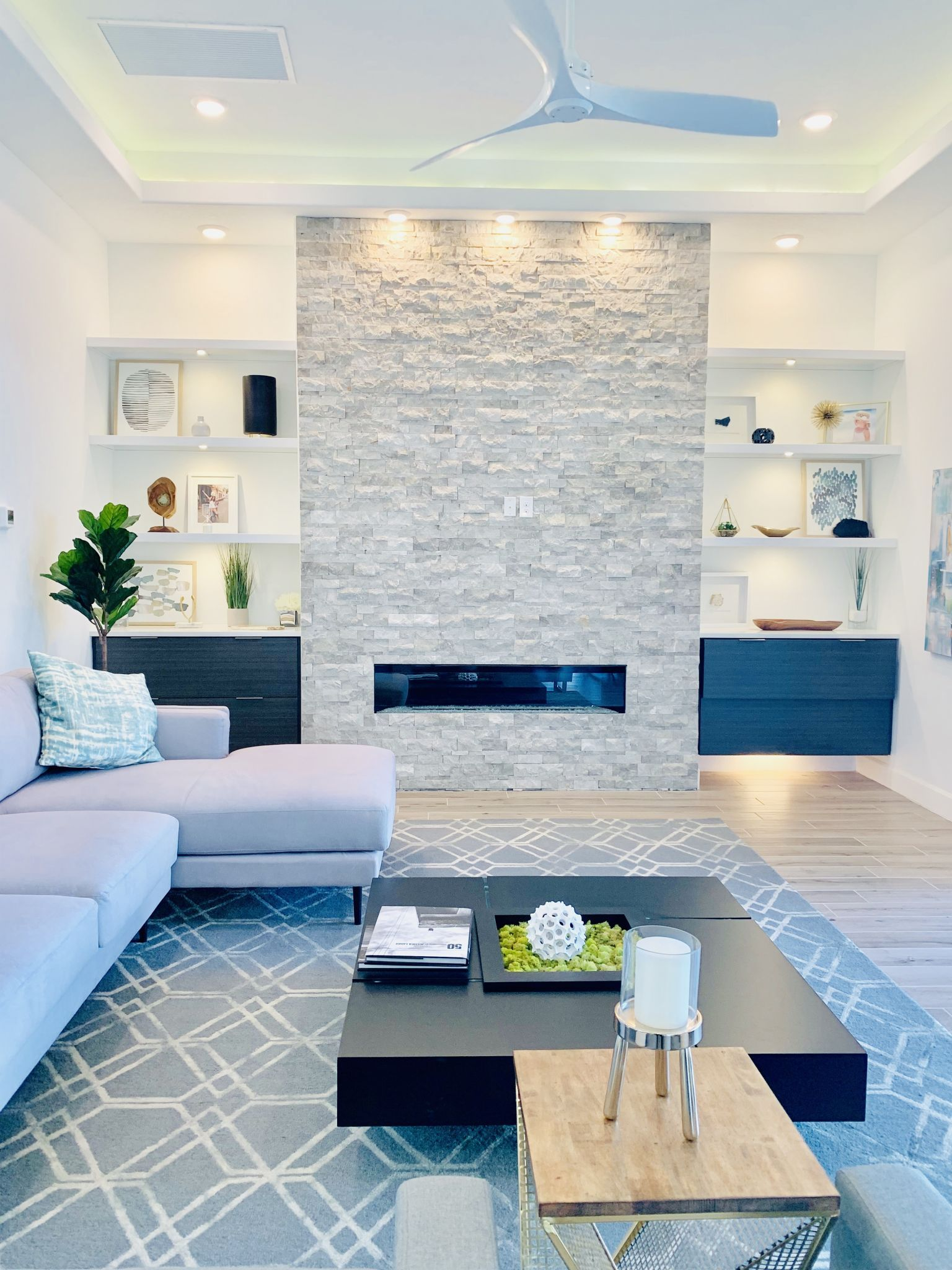 There are a few ways to add natural elements to your home design.  Some can be textured walls, flooring, or lighting.  Check out additional options that may inspire you for your home.  #homedecor #natural #designideas