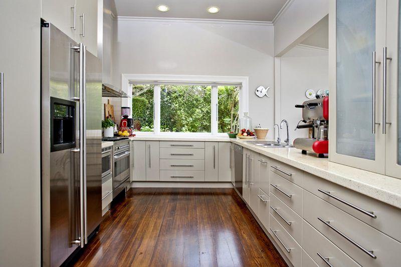 Villa Kitchen Stanley Point Auckland Nz Kitchen Kitchen Styling Double Kitchen Sink