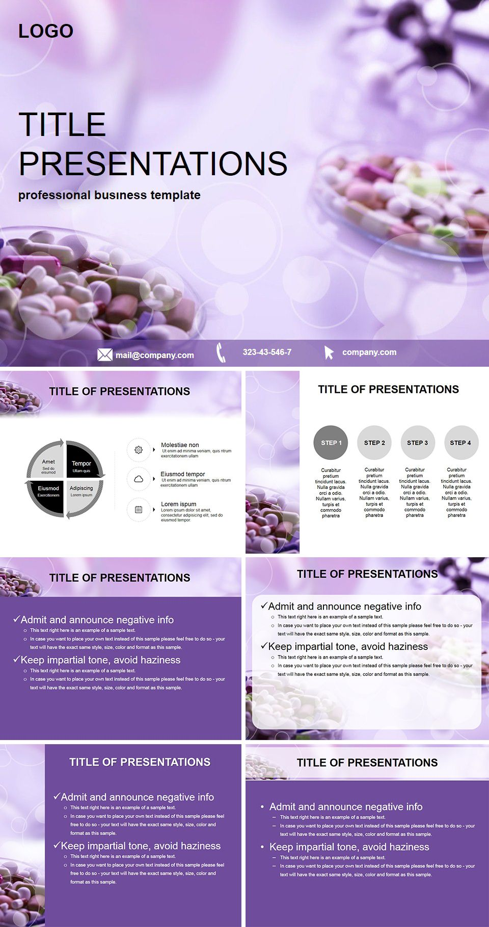 Tablets Pharmacy Powerpoint Templates Powerpoint Templates