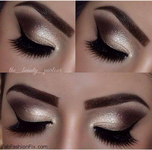 Golden Smokey Eye Makeup Tutorial By Lisa Eldridge Make Up Ideas