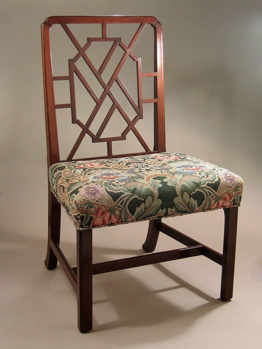Chair antique queen anne chair the buzz on antiques antique chairs 101 - George Iii Mahogany Cockpen Side Chair M Ford Creech Antiques Antique Chairsantique
