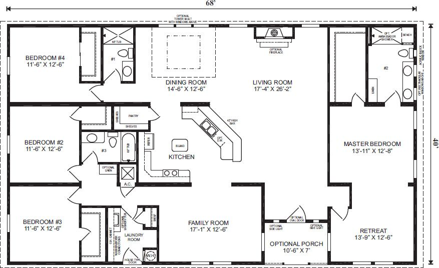 Pin By Pamela Riley On Home Is Where The Heart Is Modular Home Floor Plans Ranch House Floor Plans Basement House Plans