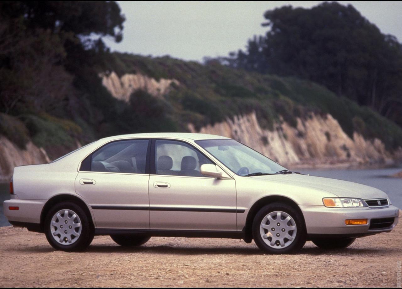 1996 Honda Accord Sedan Honda Accord Honda 2018 Honda Accord