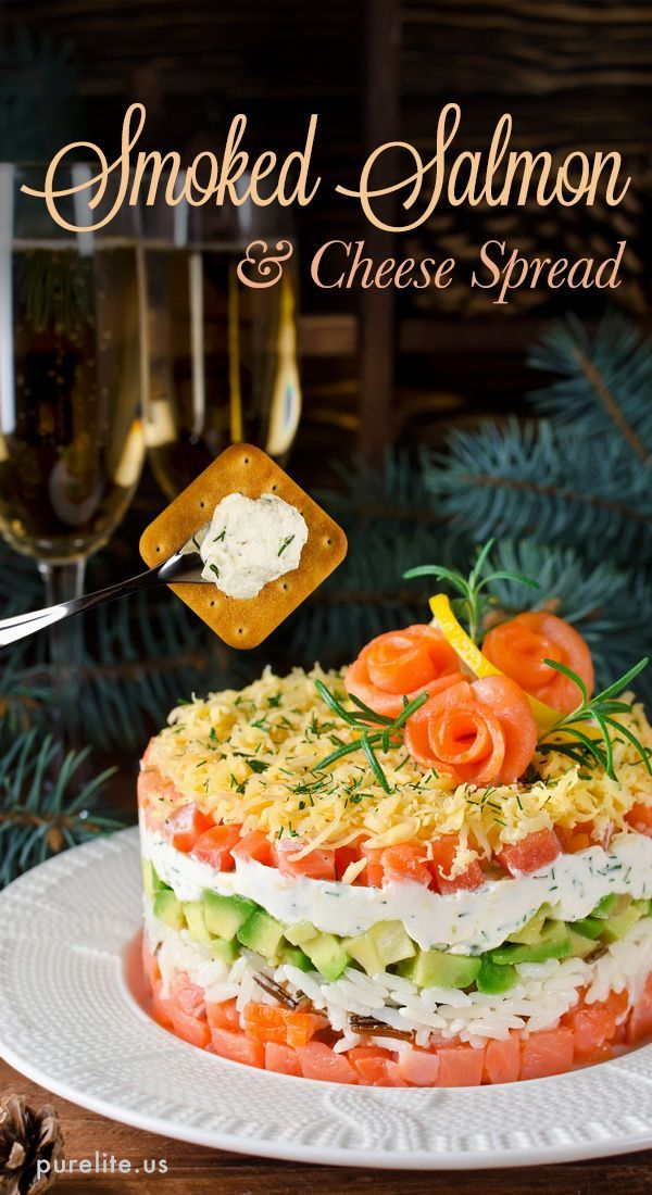 Photo of Smoked Salmon & Cheese Appetizer