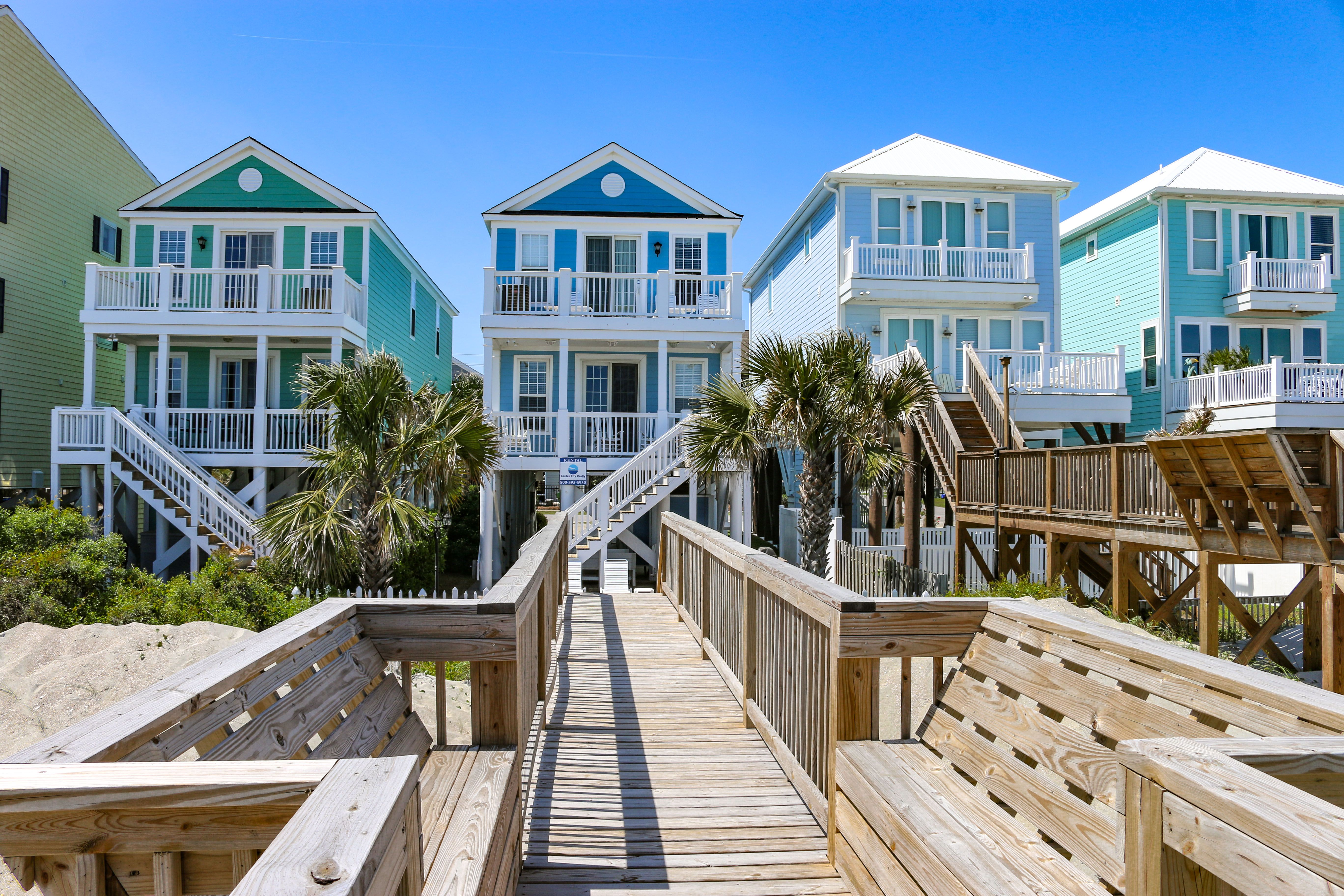Tidelands Garden City House Styles Vacation