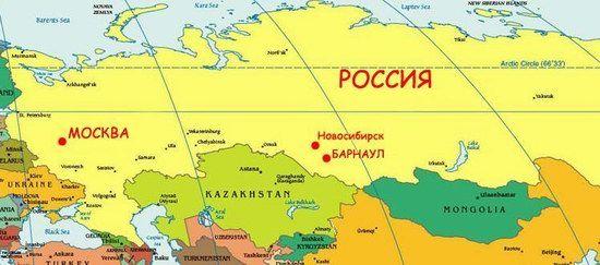 Kazakhstan Russia Map.12 Interesting Facts About Kazakhstan Maps And Stuff Pinterest
