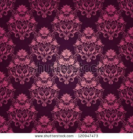 Purple Victorian Wallpaper