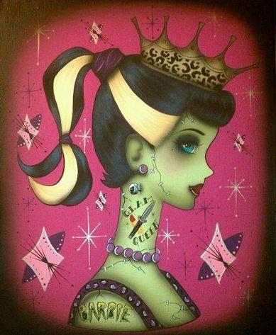 zombie barbie prom queen