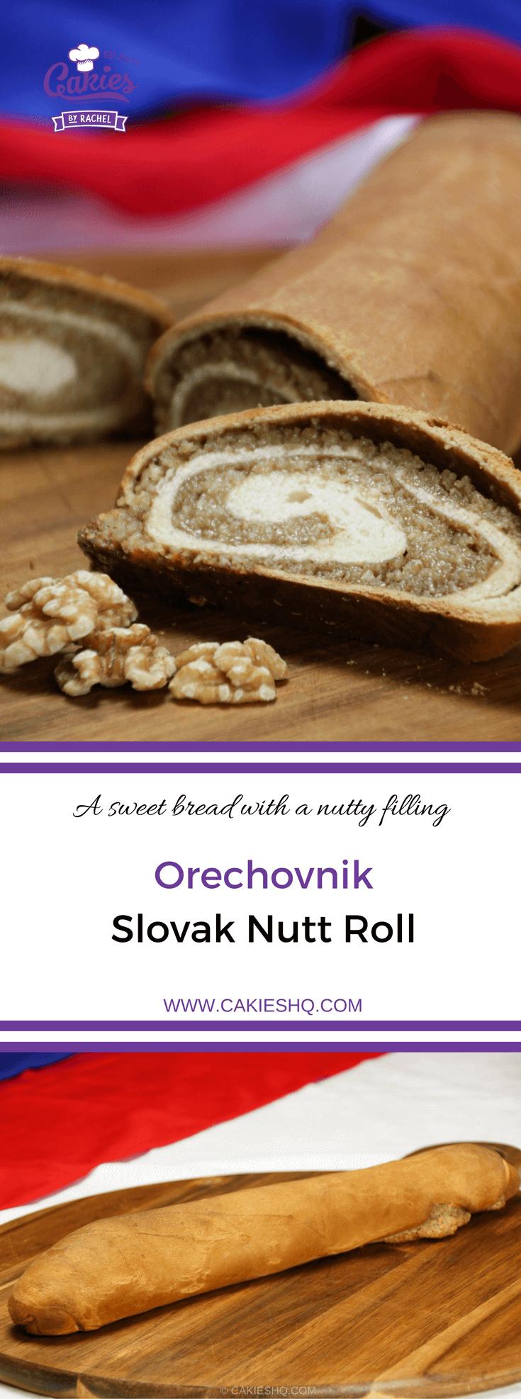 Photo of Orechovnik – Slovak Nut Roll