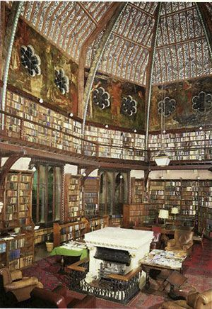 Oxford Union Murals By William Morris Bibliotecas Arquitetura