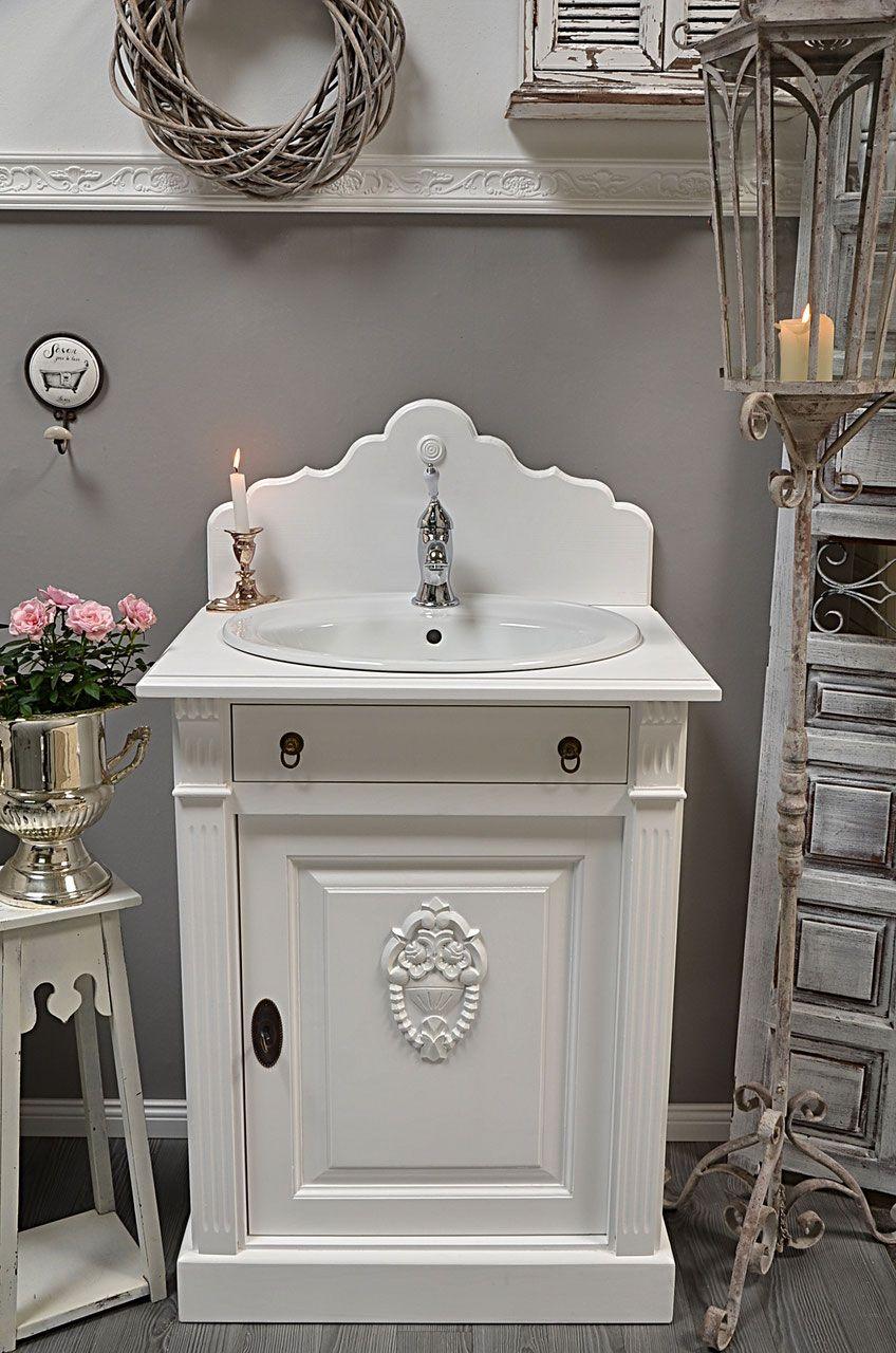 Mittlere Landhaus Waschtische Land Liebe Badmobel Landhaus Waschtisch Shabby Chic Badezimmer Badezimmer