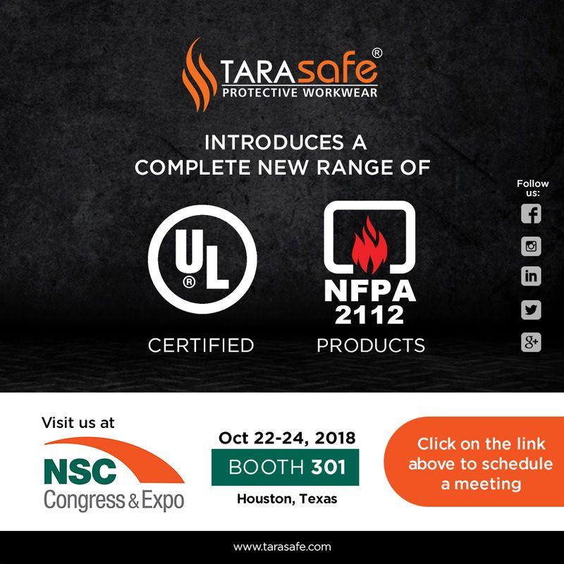 Tarasafe FRClothing Safety Protection PPE NSC2018