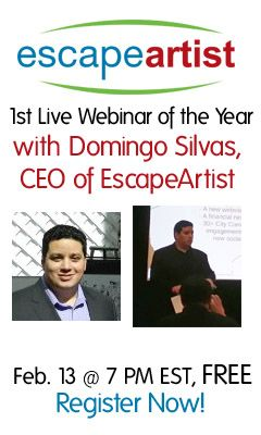 FREE WEBINAR: Get an inside look at the #1 resource for those who want to live, work, play, invest & retire anywhere! http://live.escapeartist.com/escapeartist-w-domingo-silvas-the-escapeartist-live-experience  #live #work #play #retire #invest #international #global #Dare2Escape #free #webinar